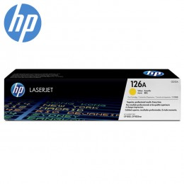HP 126A Yellow Original LaserJet Toner Cartridge (CE312A)